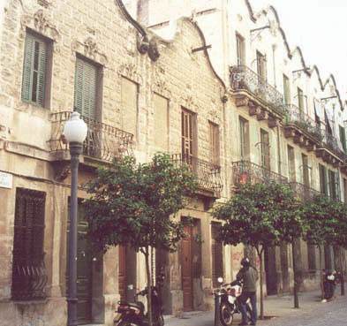 Modernisme al Carrer Coroleu